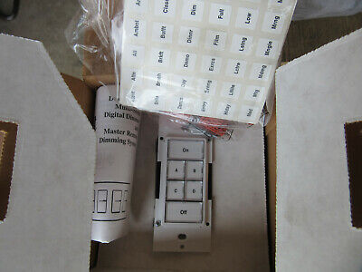 Leviton MSCRW White Multi-Location Channel Remote NEW!!! Free Shipping