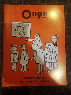 Onan BF Training Manual