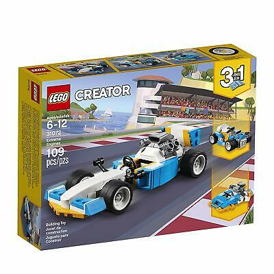 NEW Lego 31072 Creator 3 in 1 Series Extreme Engines Race Car Building Toy Set
