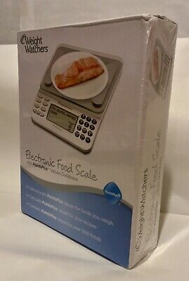 NIB Weight Watchers Electronic Food Scale Points Plus *Sealed*