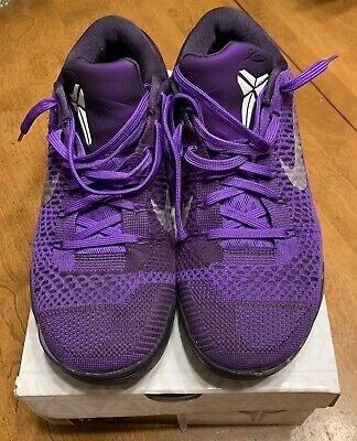 "official photos e5cdf b0d8a MENS NIKE KOBE 9 IX Nine Elite Low Premium ""Moonwalker"" Purple Size 11  Bryant OG"
