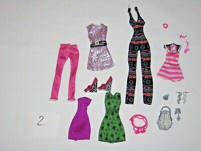 Monster High & EVER AFTER HIGH Doll Clothes, accessories & shoes lot