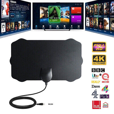 960Mile Range Antenna TV Digital HD HDTV 1080P Skywire 4K Antena Digital-Indoor