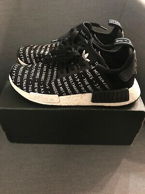 best service 1bf63 6f784 ADIDAS NMD R1 BLACKOUT Mens Size 8.5 The Brand With The 3 Stripes S76519  Tokyo