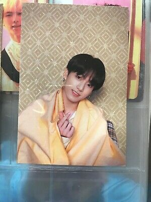 BTS Map of the Soul Persona Official Postcard Photocard Jungkook JK