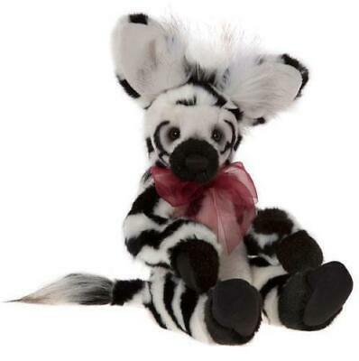 SPECIAL OFFER! Charlie Bears 2017 HUMBUG Zebra - RRP £48 (Brand New Stock!)