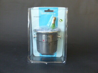 Novelty Kitchen Timer - In The Shape Of An Ice bucket And Champagne Bottle