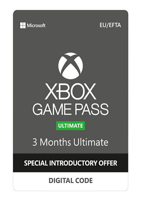 Xbox Live Gold 3 Months Game Pass Ultimate UK Windows 10 PC Game Pass