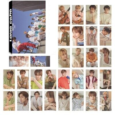 30PCS KPOP NCT#127 Photo Cards Lomo Cards Collective Photocards Posters Boxed