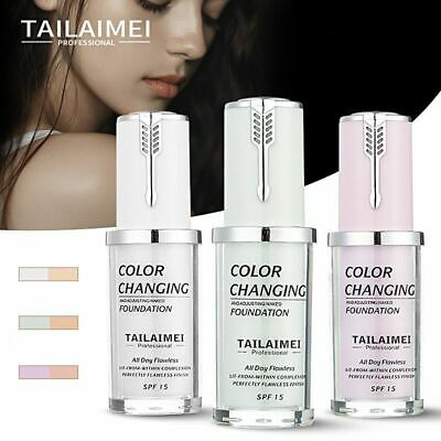 Magic Flawless Color Changing Foundation Makeup Change Skin Tone Concealer TLM