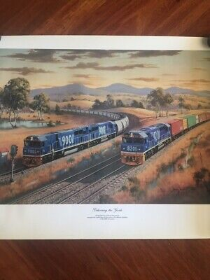 Freight Rail Print Delivering the goods