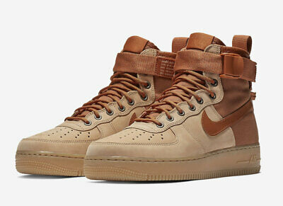 Nike SF Air Force 1 Mid w/ Sherpa Fleece Men's Size 10 GODDESS OF VICTORY