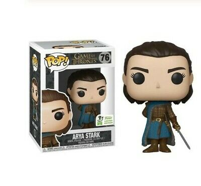 FUNKO POP Game of Thrones ARYA STARK doll toiy 76# PVC Action Figure Vinyl Doll