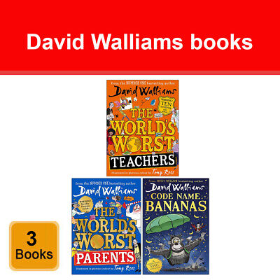 Gangsta Granny, Mr Stink, Billionaire 4 Books Collection Set by David Walliams