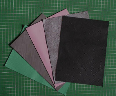 Saffiano Small Leather Rectangles.  Leathercrafts, etc