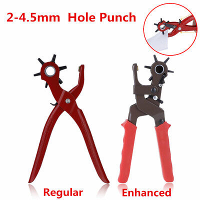 Eyelet Pliers/Hand Leather Strap Watch Band Belt Tool Hole Punch Pliers Tool SS