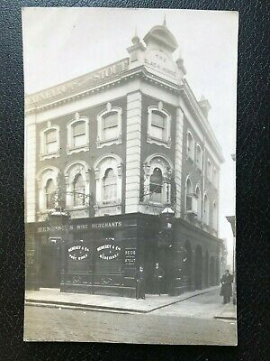 Londons Lost Pubs - The Black Horse, Brixton (Now Halifax) Original RP Postcard