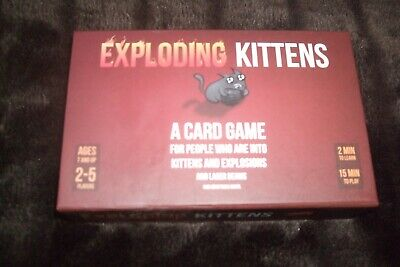 Exploding Kittens Card Game First Edition (Meow Box)