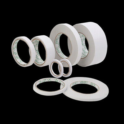 Strong Adhesive Clear Double Sided Sticky Tape DIY Craft Gift-Wrap 5mm 10mm 20mm