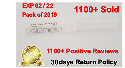 Original Philips Zoom 6%, Day White 1x Syringes- UK Stock- Exp 12-2021 on sale