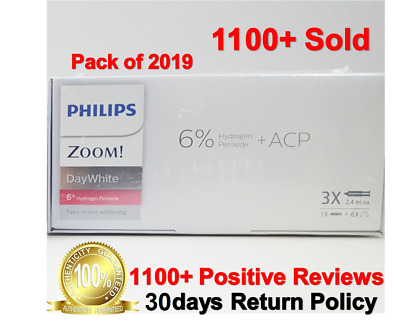 Original Philips Zoom 6% Day White 3 x Syringes- UK Stock- on sale-UK Seller