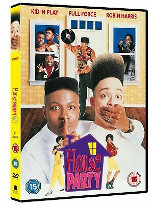 HOUSE PARTY  DVD Christopher Reid, Robin Harris Brand New Sealed UK Region 2