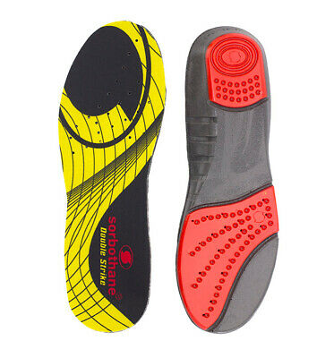 Sorbothane Double Strike Shock Absorbing Sport Heel Support Shoe Insoles