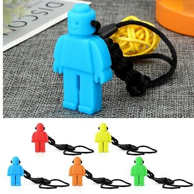 Teeth necklace baby teether autism sensory chew BPA free silicone  Robot Toy