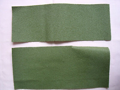 Olive Green Self Adhesive Dolls House Carpet Offcuts