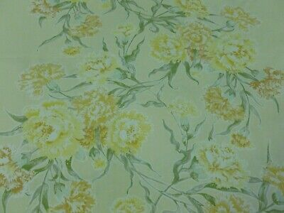 """Vtg """"HYDE PARK"""" Florals By Anna Winstanley for Coopers-Upholstery,Curtains,Craft"""