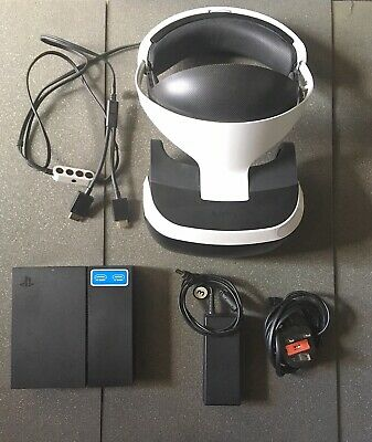 * See Pictures* PS4 PSVR - Headset, Games, PS Camera, Motion Controllers
