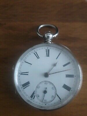 Lovely Silver Fusee Pocket Watch
