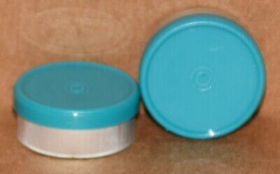 20mm Aluminum Plain Flip Top Serum Vial Seals ANY QTY - Turquoise