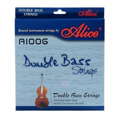 Double 4 Strings Braided Steel Core Ni-Cr Winding Nickel-Plated Ball End