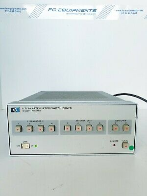 HP Agilent Keysight 11713A Attenuator / Switch Driver