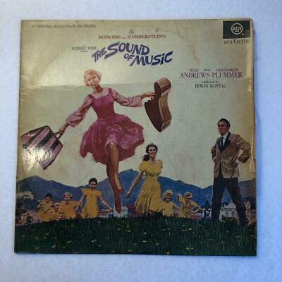 The Sound Of Music Original Soundtrack Vinyl LP Record Julie Andrews RCA Victor