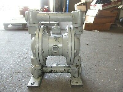 1'' Aluminum Diaphragm Pump Tested Good #79841J Used