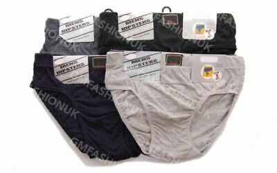 6 Pairs Mens Gents Cotton Rich Briefs Slips Underpants Designed In UK S-6XL