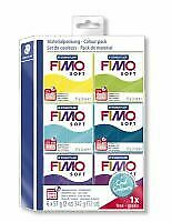 FIMO Modelling Clay Soft pack cool colours
