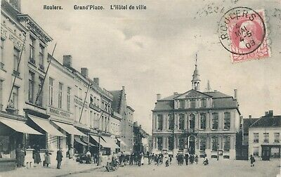 CPA - Belgique - Roulers - Grand'Place
