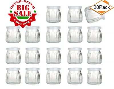 eb65eac55ad1 ENCHENG 8 OZ Glass Jars With Lids,Ball Wide Mouth Mason For 8oz ...