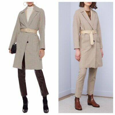 Vanessa Bruno Manteau Belted Cotton Jacquard Coat Pants Included!  $720 & $260