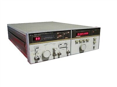 Agilent Hewlett Packard HP 8672A Synthesized Signal Generator System 2-18GHz