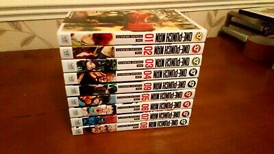 One Punch Man Manga Vol 1-9