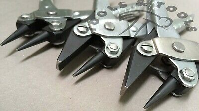 Parallel Action Pliers 3 Piece Set Round/ Flat & Concave Jewellery Beads Crafts