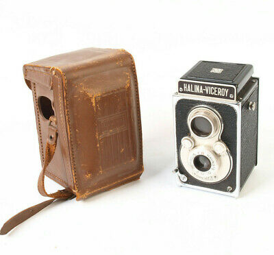 Halina-Viceroy Twin Reflex Camera with case