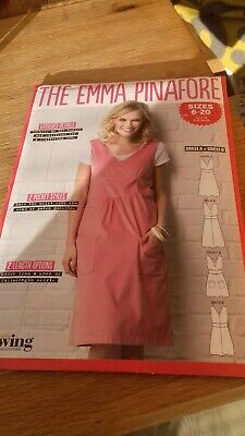 """Simply Sewing """"The Emma Pinafore"""" Sewing Pattern Size 6-20"""