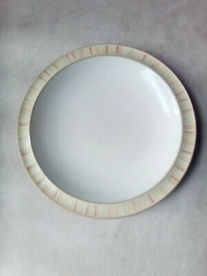 Denby Caramel stripes side plate approximately 7.5 inches used conditions