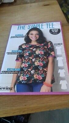 """Simply Sewing """"The Staple Tee"""" dress +top  *NEW* Size 6-20"""