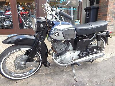 1966 Honda CA95 150 Dream touring twin original easy restoration project £1150